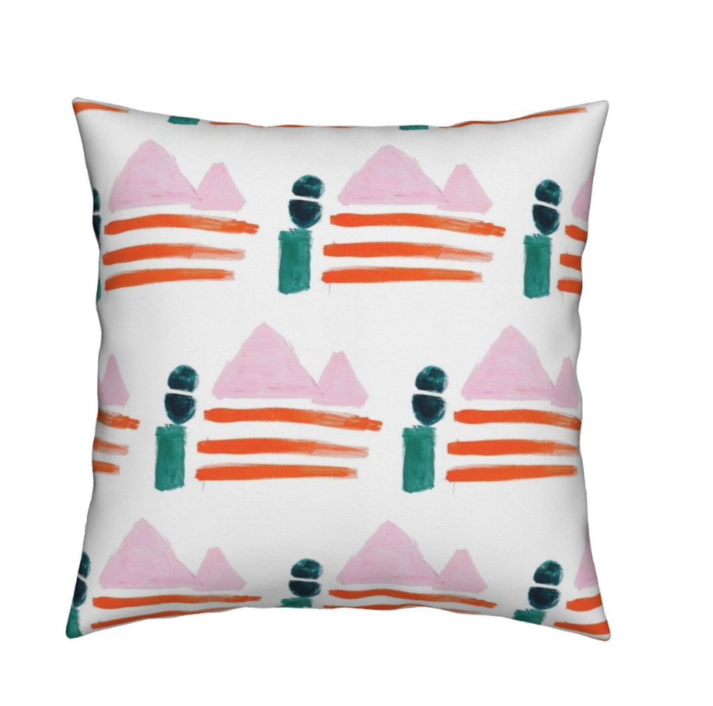 Sail Away Clementine Pillow