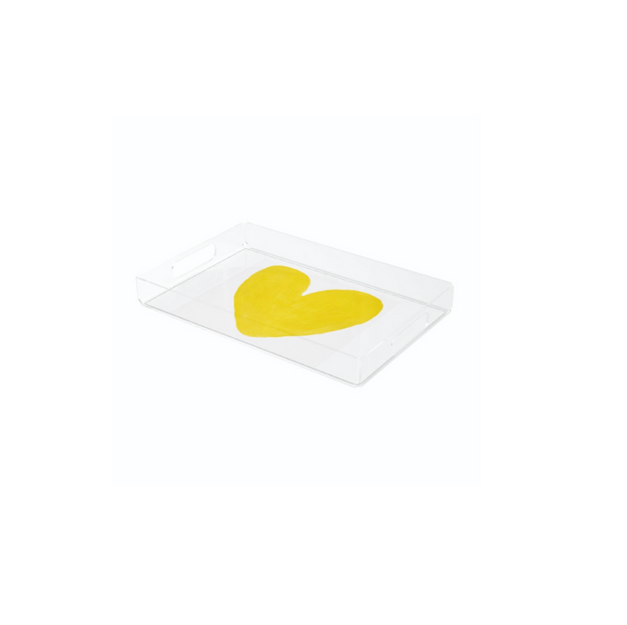 Mini Yellow In My Heart Tray
