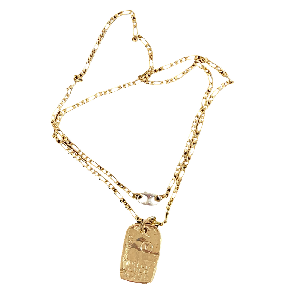 Solid Gold Necklace - 14K Gold