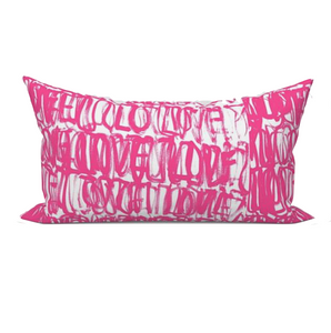 Love Actually Pillow - Pop Pink