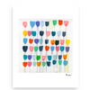 Pretty Little Tulips Mini Art Print