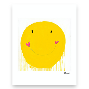 Smiley Mini Art Print