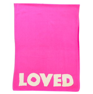 Loved Blanket Pop Pink