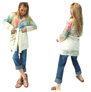 Permanent Vacation Cashmere Long Cardi