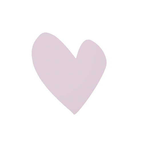 Imperfect Heart Mauve Paperless Wallpaper (12 per pack)