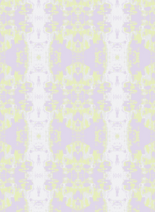 Top Down Lilac Washed Lime Fabric