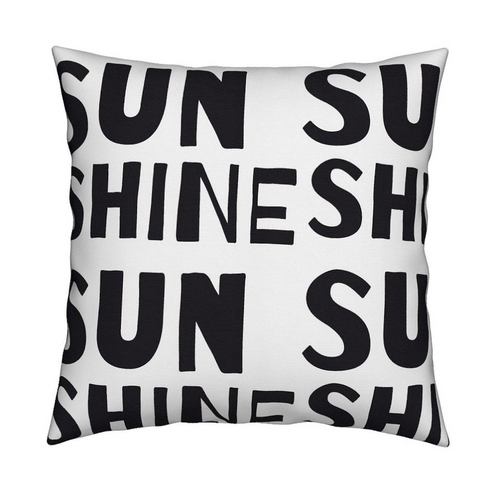 Sunshine Carbon Pillow
