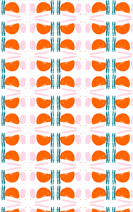 Purrfecto Clementine Fabric
