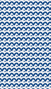 Happy Land Indigo Fabric