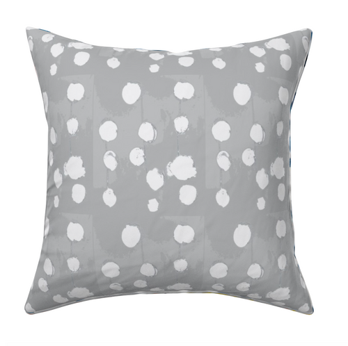 B Is For Blueberry Reverse Dove Pillow