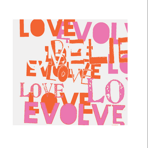 Love Evolve Fabric