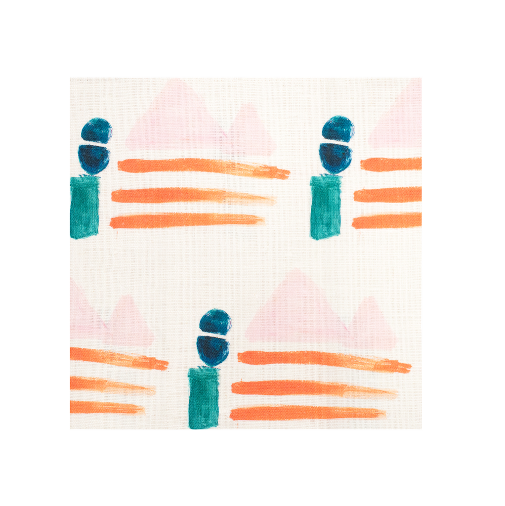 Sail Away Clementine Fabric
