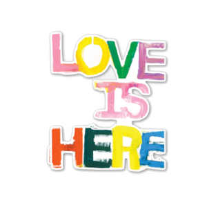 Love Is Here Jumbo Paperless Wallpaper (single)