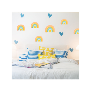 Rainbow Pastel Paperless Wallpaper (12 per pack)