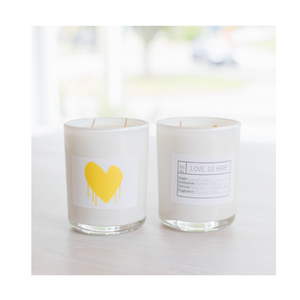 Love Is Here Candle