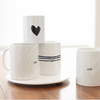 Imperfect Heart Mug 11oz - Carbon