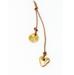 Love Goes Around Pendants- 14K Gold