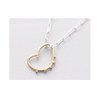 Drippy Heart Pendant- 14K Gold