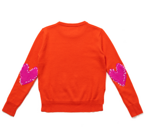 Patchwork Love Dark Orange + Pink Cashmere