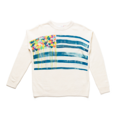 United States of Love Cashmere Sweater