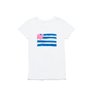 Hearts & Stripes Forever Tee