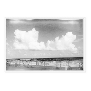 Beach Black + White Photograph
