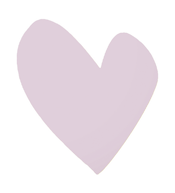 Imperfect Heart Mauve Jumbo Paperless Wallpaper (single)