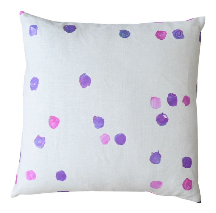 Dominoes Pop Pink Pillow