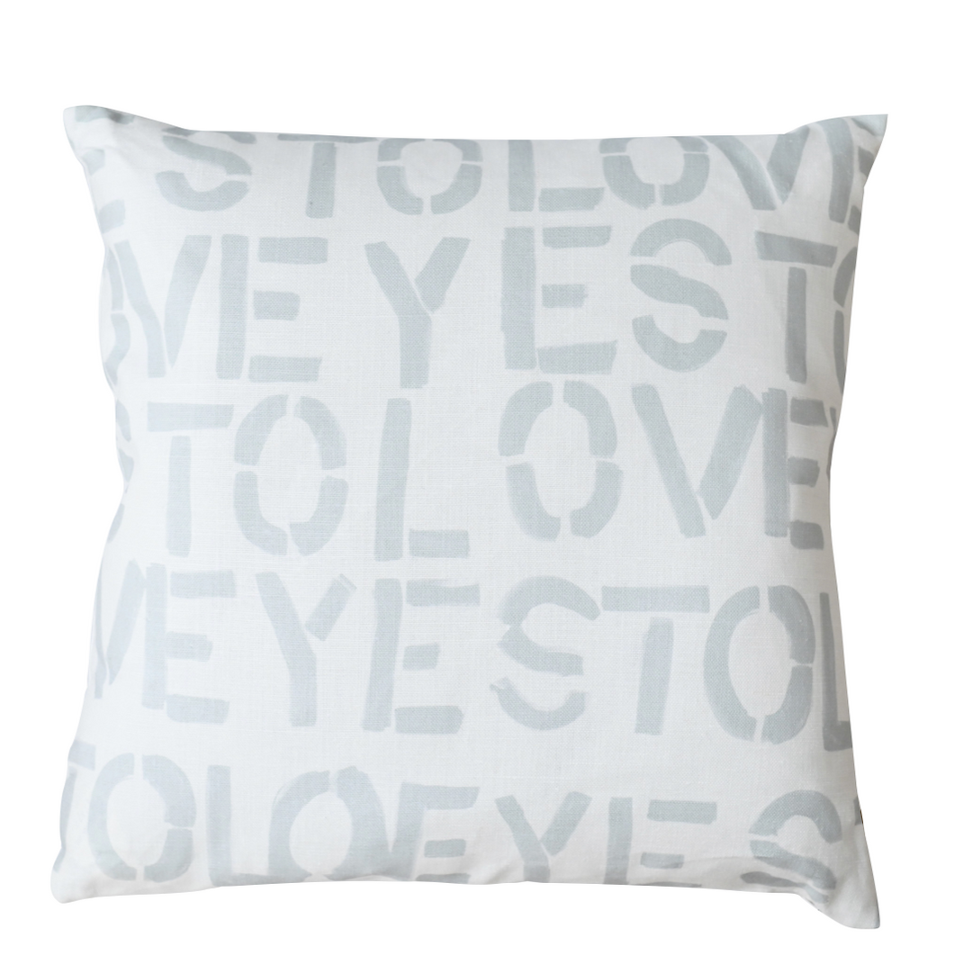 Yes To Love Dove Pillow