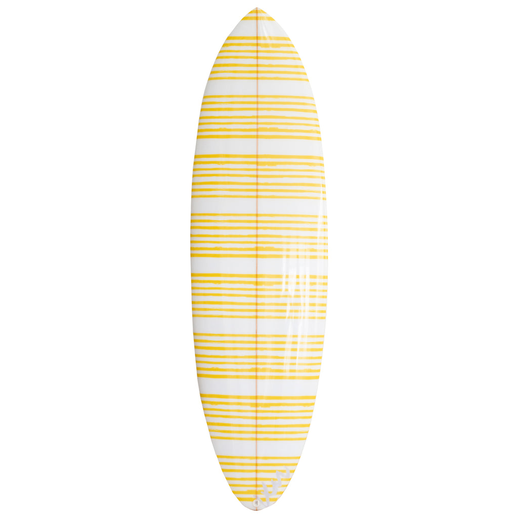 Stripe On Stripe Sunshine Surfboard