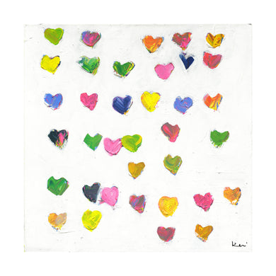 Tiny Drops of Love Art Print