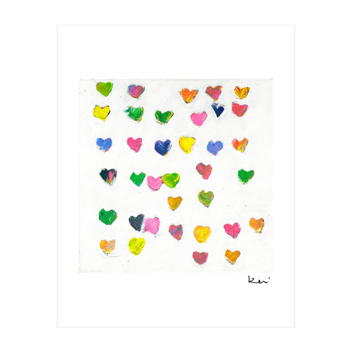 Tiny Drops of Love Mini Art Print