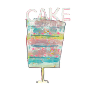 Cake No. 3 Jumbo Paperless Wallpaper (single)