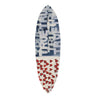 RED WHITE AND TRUE FLAG SURFBOARD