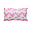 Happy Land Pop Pink Pillow