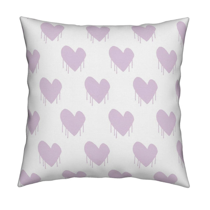 Sweethearts Lilac Pillow