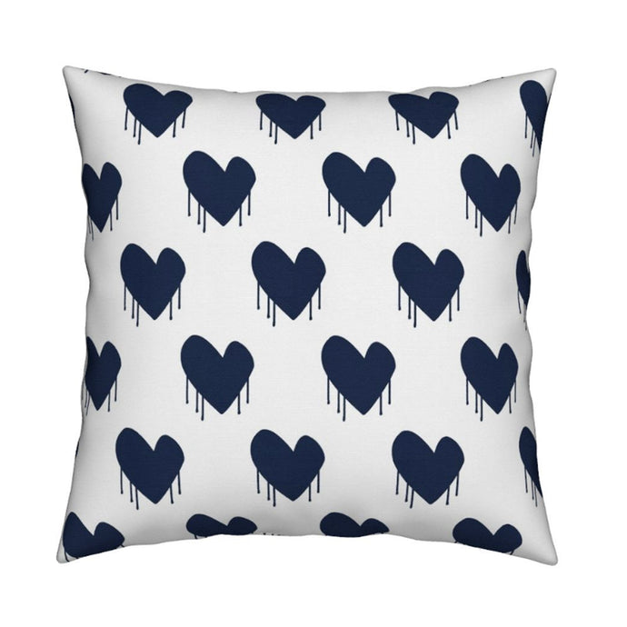 Sweethearts Indigo Pillow
