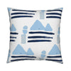 Sail Away Indigo Pillow