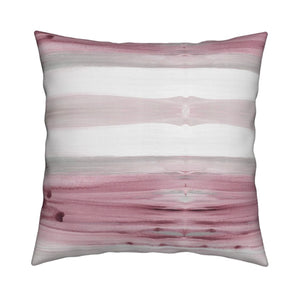 Fallen Leaves Mauve Pillow