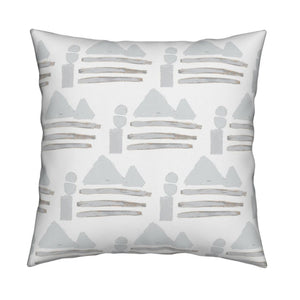 Sail Away Dove Fabric