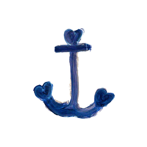 Anchor Indigo Paperless Wallpaper (12 per pack)