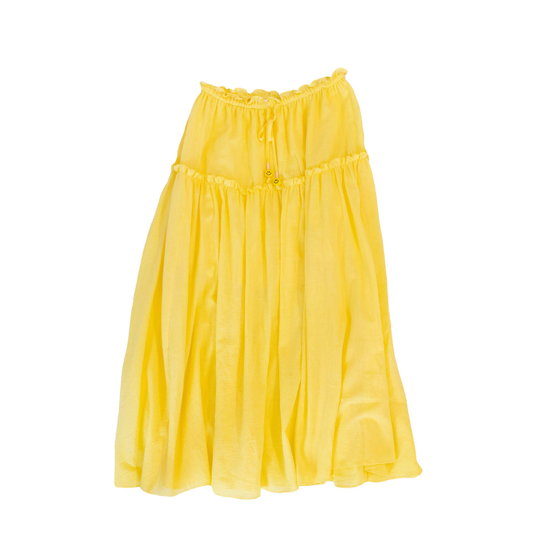 The Vacay Skirt - Lemon