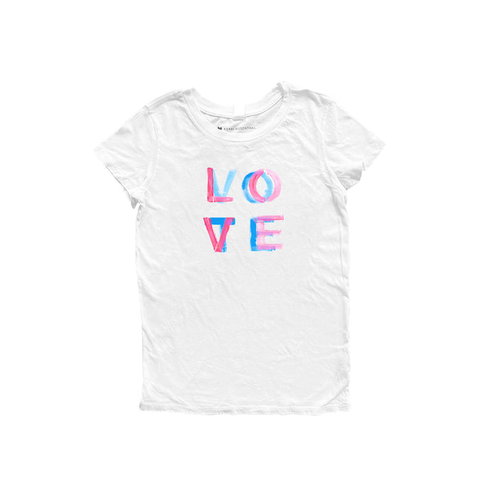 Vote Love White Tee