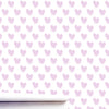 Sweethearts Lilac Wallpaper
