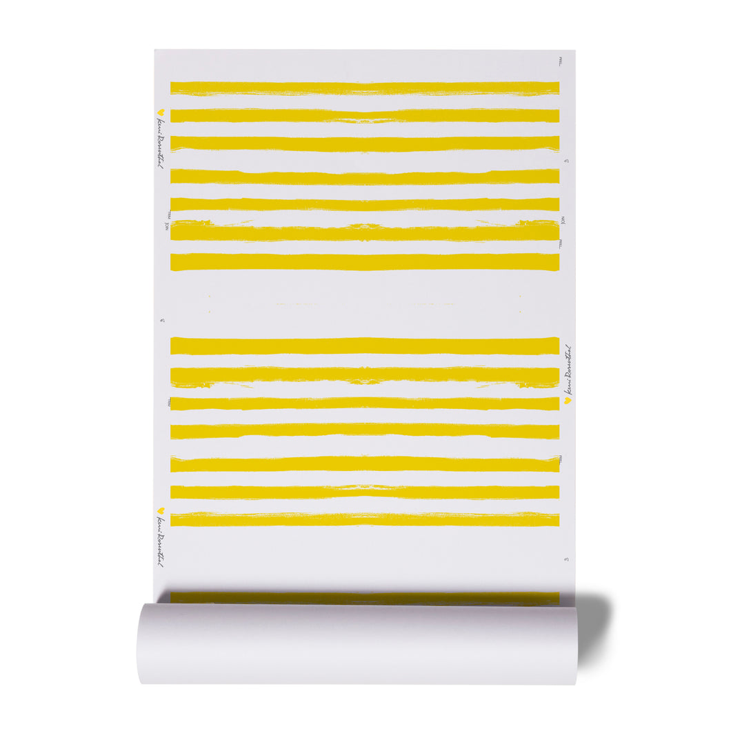 Stripe on Stripe Sunshine Wallpaper