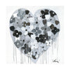 When I'm With You Drippy Heart Art Print