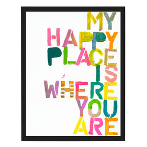 Wherever You Are Art Print
