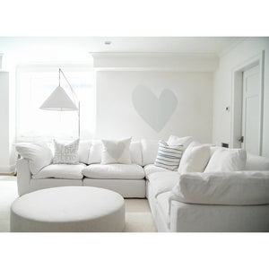 Imperfect Heart Dove XL Paperless Wallpaper (single)