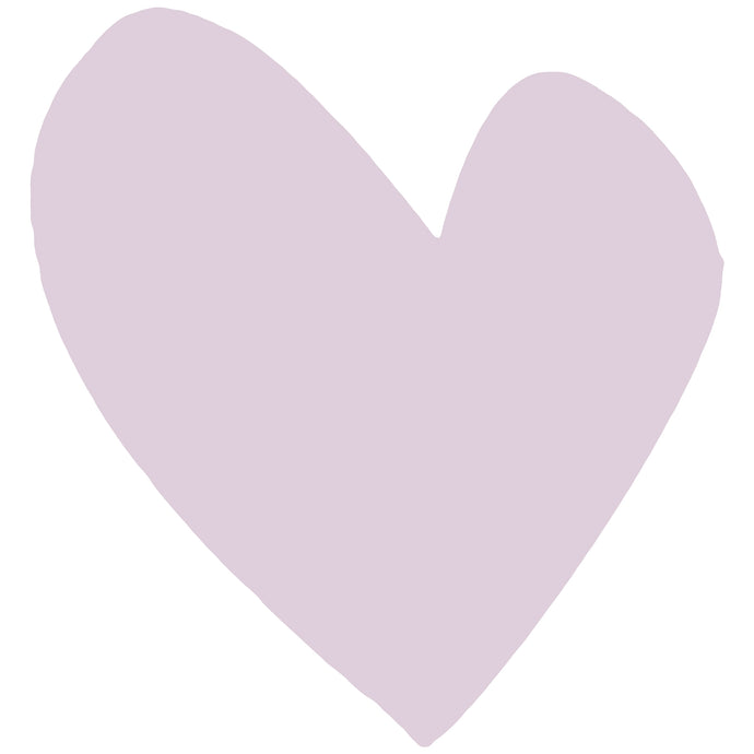 Imperfect Heart Mauve XL Paperless Wallpaper (single)