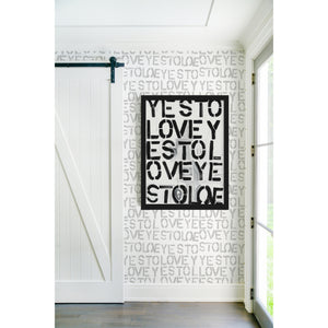 Yes to Love Art Print